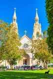 Saints Peter and Paul Church in San Francisco royalty free stock photos