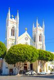 Saints Peter and Paul Church in  San Francisco stock photography