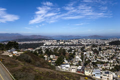 San Francisco, California, USA, from Twin Peaks Stock Photos