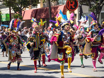 San 2014 Francisco Carnaval Grand Parade Stockbild