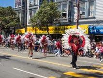 2014 San Francisco Carnaval Grand Parade Royalty-vrije Stock Afbeeldingen