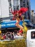2014 San Francisco Carnaval Grand Parade Royalty-vrije Stock Fotografie