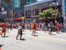 2014 San Francisco Carnaval Grand Parade Stock Foto