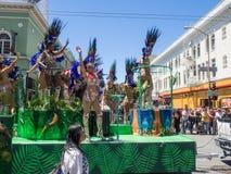 2014 San Francisco Carnaval Grand Parade Royalty-vrije Stock Foto's
