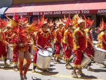 2014 San Francisco Carnaval Grand Parade Royalty-vrije Stock Afbeelding