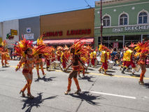 2014 San Francisco Carnaval Grand Parade Stock Fotografie