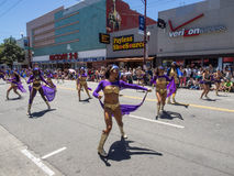 2014 San Francisco Carnaval Grand Parade Stock Afbeelding