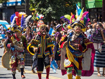 2014 San Francisco Carnaval Grand Parade Royalty Free Stock Photo
