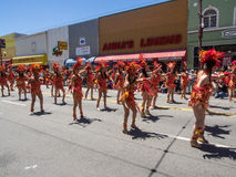 2014 San Francisco Carnaval Grand Parade Royalty Free Stock Photos