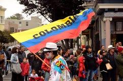 San 2015 Francisco Carnival Celebration imagem de stock