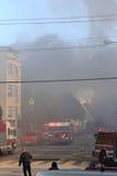 San Francisco - case su fuoco Fotografia Stock