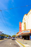 San Francisco Castro District Area Theater Shops V Stock Images