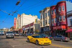 San Francisco Castro Theatre Arkivbild