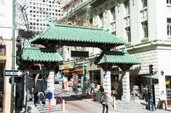 San Francisco China town Royalty Free Stock Photography