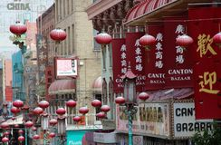 San Francisco Chinatown Imagen de archivo