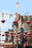 San Francisco Chinatown Stockfotos