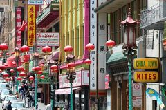 San Francisco Chinatown Fotografia Stock