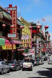 San Francisco Chinatown Fotografia de Stock Royalty Free