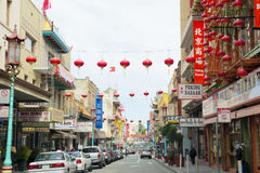 San Francisco Chinatown Fotografia de Stock Royalty Free