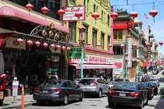 San Francisco Chinatown Royalty Free Stock Photo