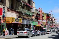 San Francisco Chinatown Stock Image