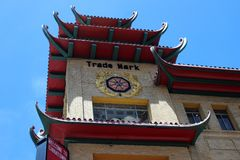 San Francisco Chinatown Royalty Free Stock Photos
