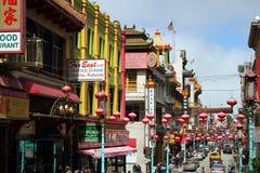 San Francisco Chinatown, la Californie, Etats-Unis Photographie stock libre de droits