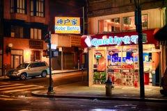 San Francisco Chinatown Store at Night Royalty Free Stock Images