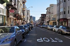 San Francisco Chinatown Street View Photo libre de droits