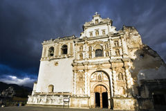 San Francisco Church in Antigua Stock Images