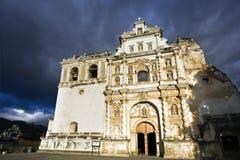 San Francisco Church in Antigua. Guatemala stock images