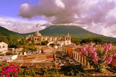 San Francisco Church, Antigua, Guatemala Stock Photography
