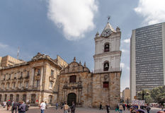 San Francisco Church Bogota Colombia Royalty Free Stock Photos
