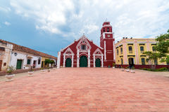San Francisco Church dans Mompox, Colombie photos stock