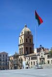 San Francisco Church en La Paz, Bolivia imagen de archivo