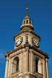 San Francisco Church en Santiago Fotos de archivo libres de regalías