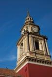 San Francisco Church en Santiago Fotos de archivo