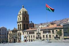 San Francisco Church in La Paz, Bolivien Lizenzfreie Stockbilder