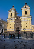 San Francisco Church, Lima royalty free stock photo