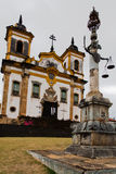 San Francisco Church Mariana Brazil Royalty Free Stock Photography