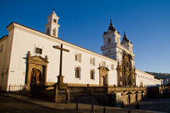 San Francisco Church and plaza in Quito, Ecuador Stock Photography