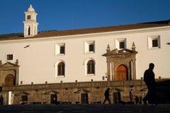 San Francisco Church and plaza in Quito, Ecuador Royalty Free Stock Images