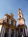 San Francisco church in Salta, Argentina. Church situated in Salta, Argentina stock photo