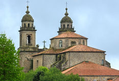 San Francisco church, Santiago, Spain. Stock Photo