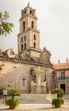 San Francisco Church and Square in Old Havana Stock Image