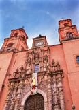 San Francisco Church Templo de San Francisco Guanajuato Mexico Royalty Free Stock Photography