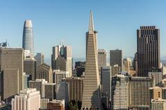 San Francisco City fotografering för bildbyråer