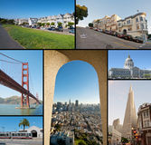San Francisco City Royalty Free Stock Photos