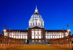 San Francisco City Hall. A shot of the San Francisco City Hall at dusk royalty free stock photos