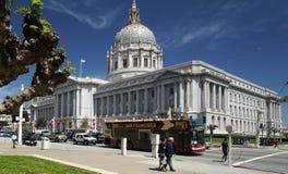 San Francisco City Hall Fotografia de Stock Royalty Free